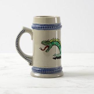 Sea Serpent Beer Stein