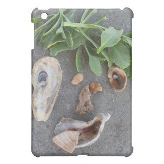 sea shell and kelp face iPad mini cases