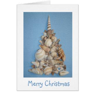 Sea Shell Christmas Card