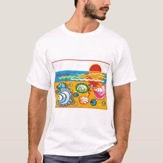 Sea Shell Composition T-Shirt