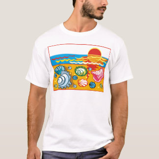 Sea Shell Composition T-Shirt