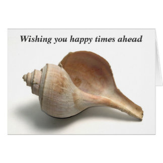 Sea Shell - Farewell - Retirement Message Card