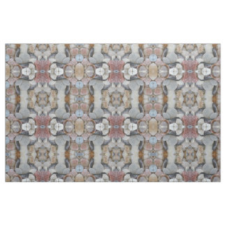 Sea Shell Mosaic Fabric