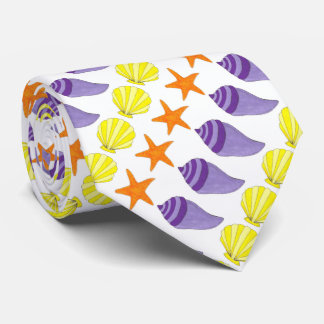 Sea Shell Seashell Shells Starfish Beach Ocean Tie
