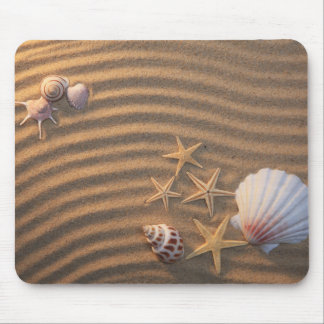 Sea Shells And Starfish Mouse Pad