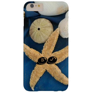 Sea shells and urchins with your initials - barely there iPhone 6 plus case
