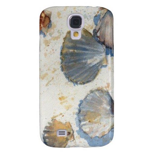 Sea Shells - Beach Scenes iPhone 3G/3GS Cas Galaxy S4 Cases