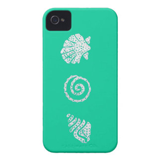 "Sea Shells Blackberry Bold ""Barely There"" Casemate iPhone 4 Covers"