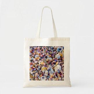 Sea Shells By The Sea Shore Budget Tote Bag