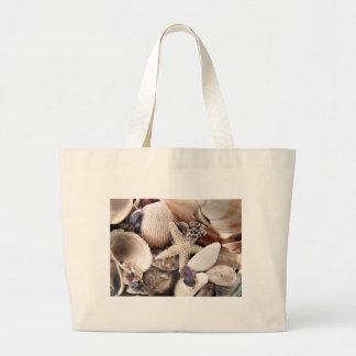 Sea Shells by the Shore Jumbo Tote Bag
