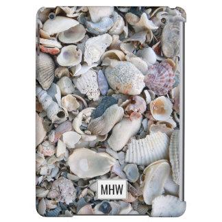 Sea Shells custom monogram device cases
