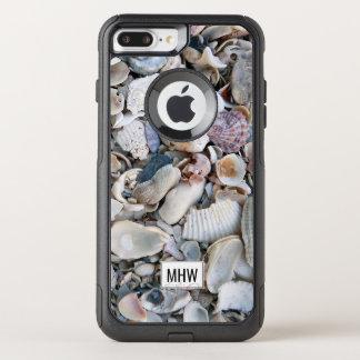 Sea Shells custom monogram phone cases