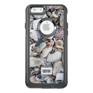 Sea Shells custom monogram phone cases