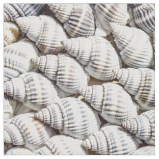 sea shells fabric