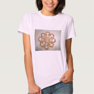 Sea Shells,Ladies Baby Doll (Fitted) Shirt