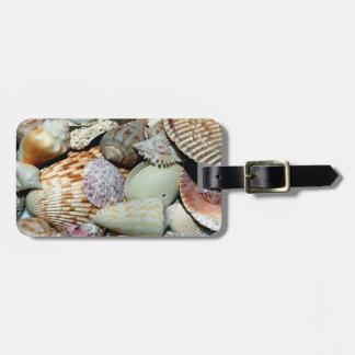 Sea Shells Luggage Tag