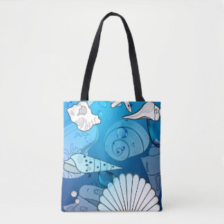 Sea Shells Ocean Seashells Tote