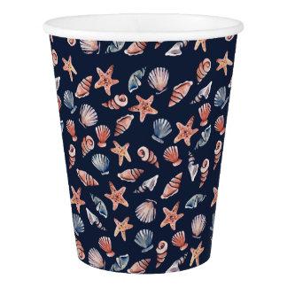 Sea Shells Paper Cup