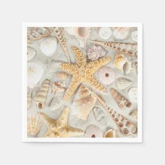 Sea Shells Paper Napkin