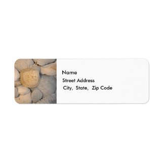 Sea Shells Return Label