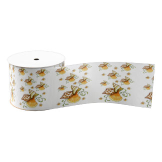 sea shells ribbon grosgrain ribbon
