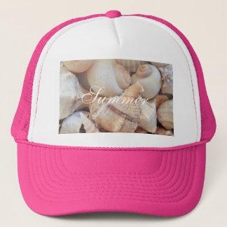 Sea Shells, Summer Beach Exotic Tropical Romantic Cap