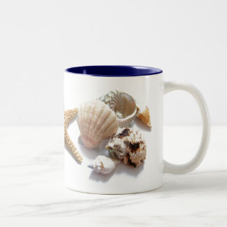 Sea Shells Two-Tone Coffee Mug