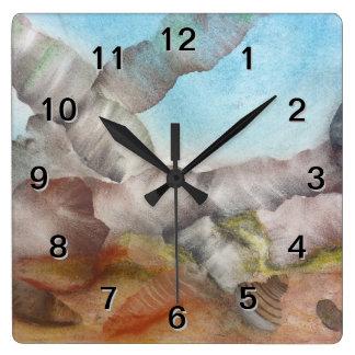 Sea Shells Underwater. Clock