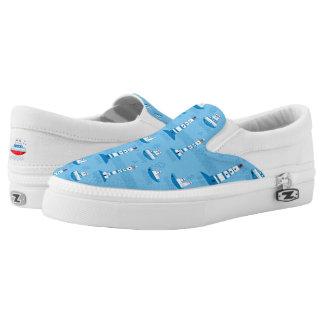 Sea, ships, lighthouses, Slip-On shoes