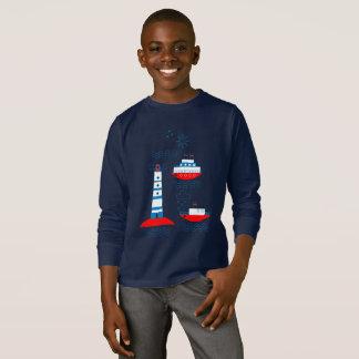 Sea, ships, lighthouses T-Shirt