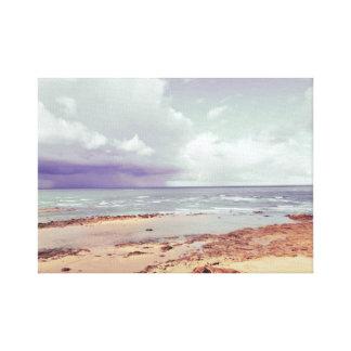 sea shore. Andalusia.  Spain Canvas Print