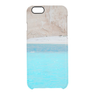 sea shore. Greece Clear iPhone 6/6S Case