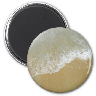 Sea Shore Tide 6 Cm Round Magnet