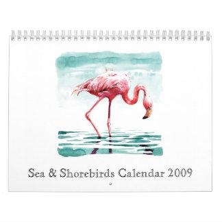 Sea & Shorebirds Calendar 2009