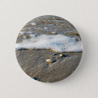Sea side 6 cm round badge