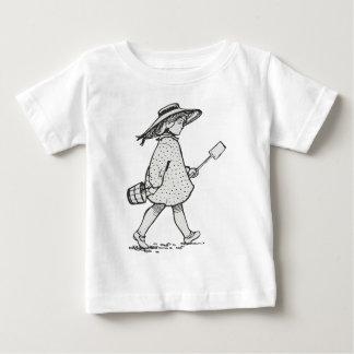 Sea side girl-33 baby T-Shirt
