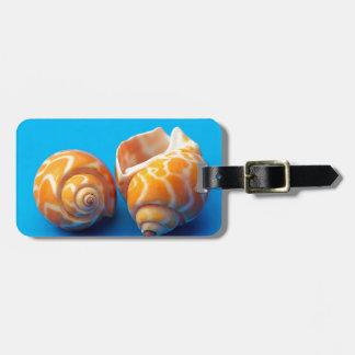 Sea Snails Luggage Tag