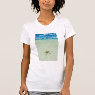 Sea star in shallow water, Palau T-Shirt