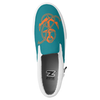 Sea Star Sea Anchor Printed Shoes