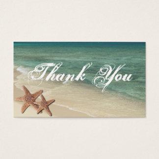 Sea Starfish Thank You Gift Tag
