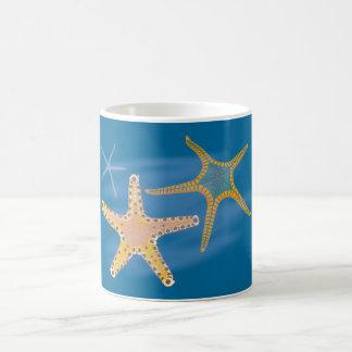 Sea-stars star fish mug