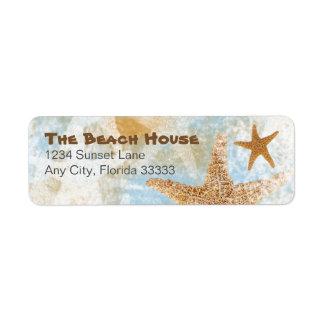 Sea Stars Starfish | Return Address Labels