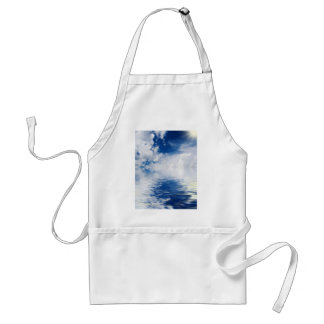 sea, sun and clouds standard apron