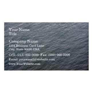 Sea Surface Texture Business Card