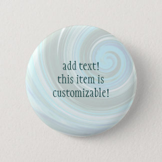 Sea Swirl Custom Buttons and Pins to Personalise