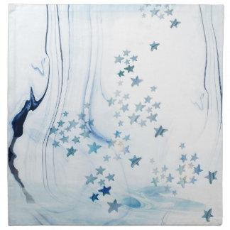 Sea theme cloth napkin