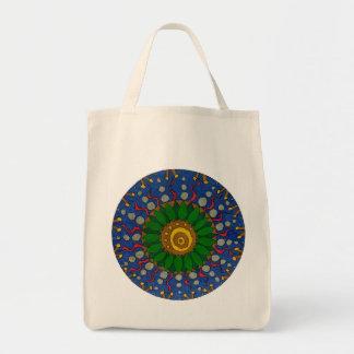 Sea-thoughts Mandala Tote Bag
