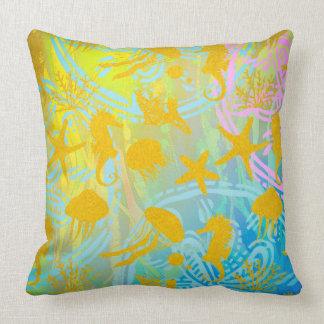 "Sea Throw Pillow 20"" x 20"