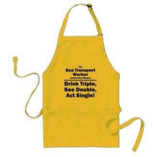 sea transport worker standard apron