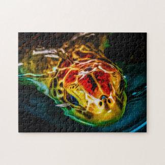 Sea Turtle 02 Digital Art - Photo Puzzle